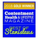 2018 Gold Winner Contentment Health & Lifestyle Magazine Best of Stanislaus